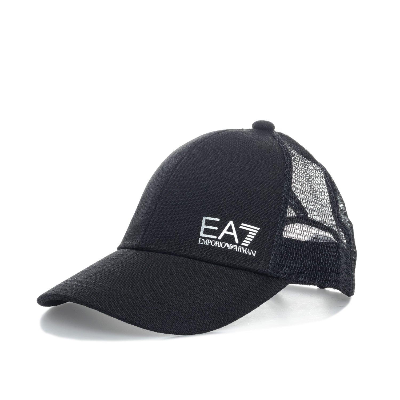 ea6dc69173641 Amazon.com  Emporio Armani Ea7 Women s Emporio Ea7 Baseball Cap One Size  Black  Emporio Armani EA7  Clothing