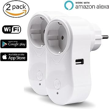 Toma inteligente Alexa WiFi iintelli unirá Conector Wifi Smart ...