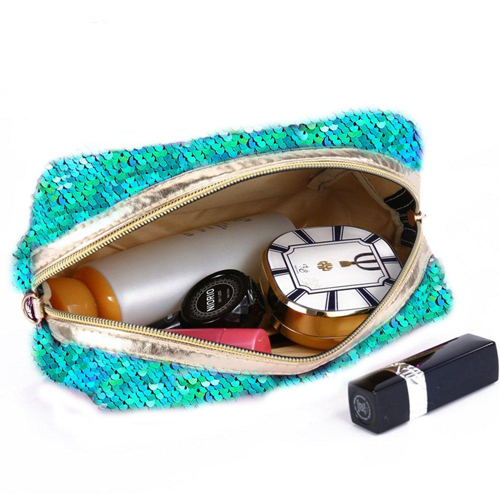 Amazon.com: GIANCOMICS sirena lentejuelas bolsa de ...