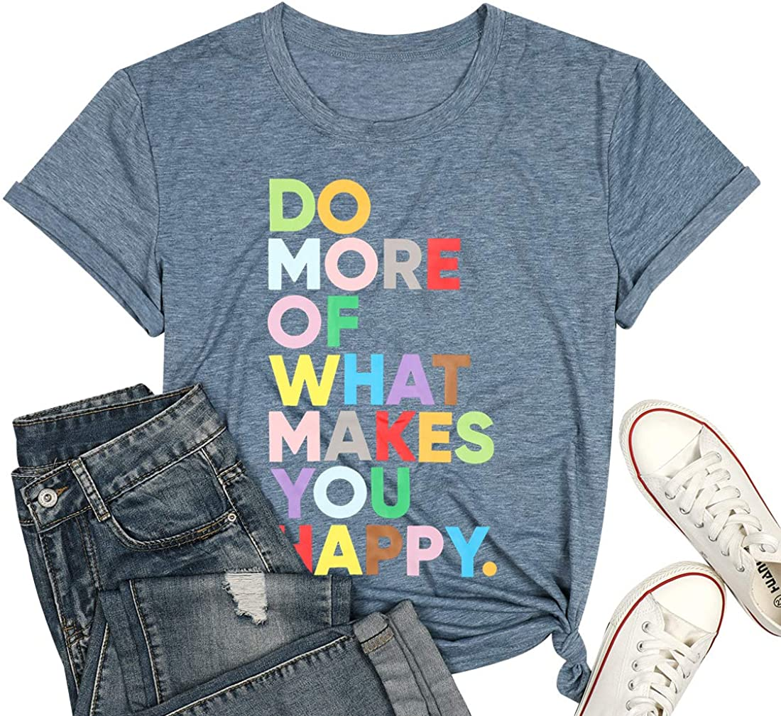 graphic tee Graphic t-shirt Good things are going to happen slouchy relaxed fit t-shirt workout top