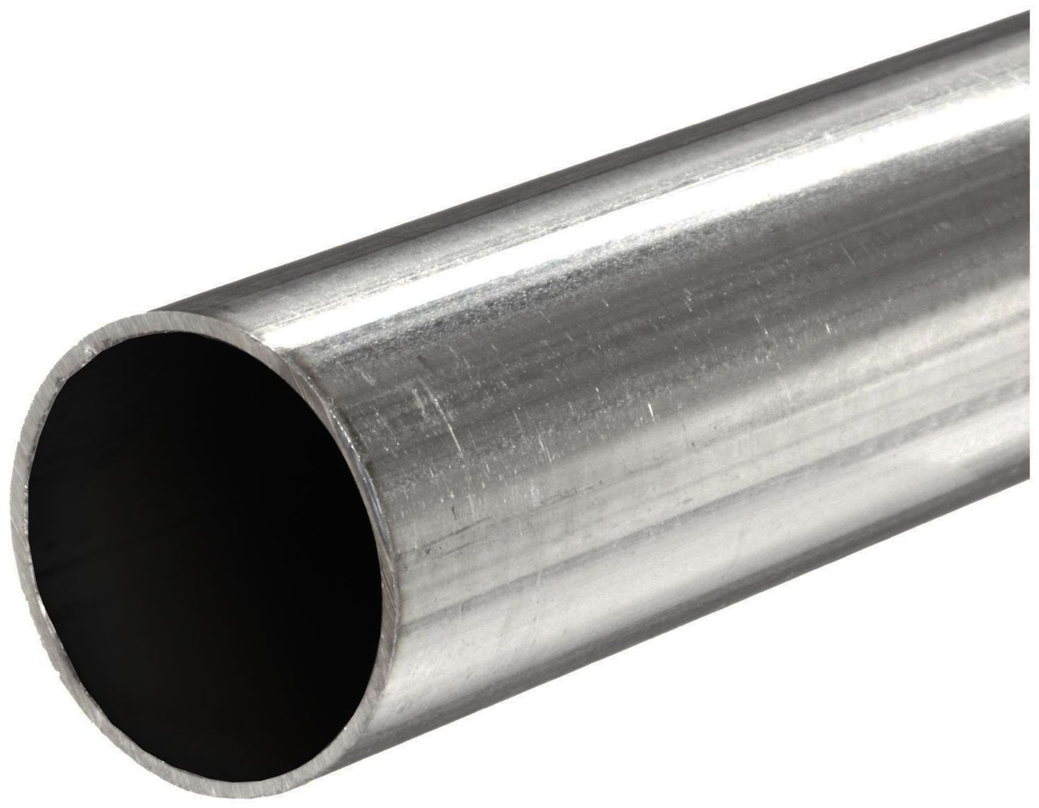 Online Metal Supply 316 Stainless Steel, Round Tube, OD: 1.000 (1 inch), Wall: 0.083 inch, Length: 12 inches, Seamless
