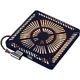 メトロ こたつ用取替えヒーター U字型ハロゲンヒーター 手元温度コントロール式 MHU-601E(K)
