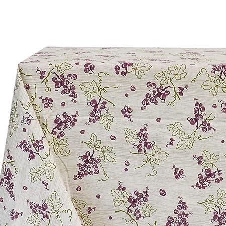 Tovaglia con tovaglioli cotone 100/% stampato in varie fantasie Made in Italy