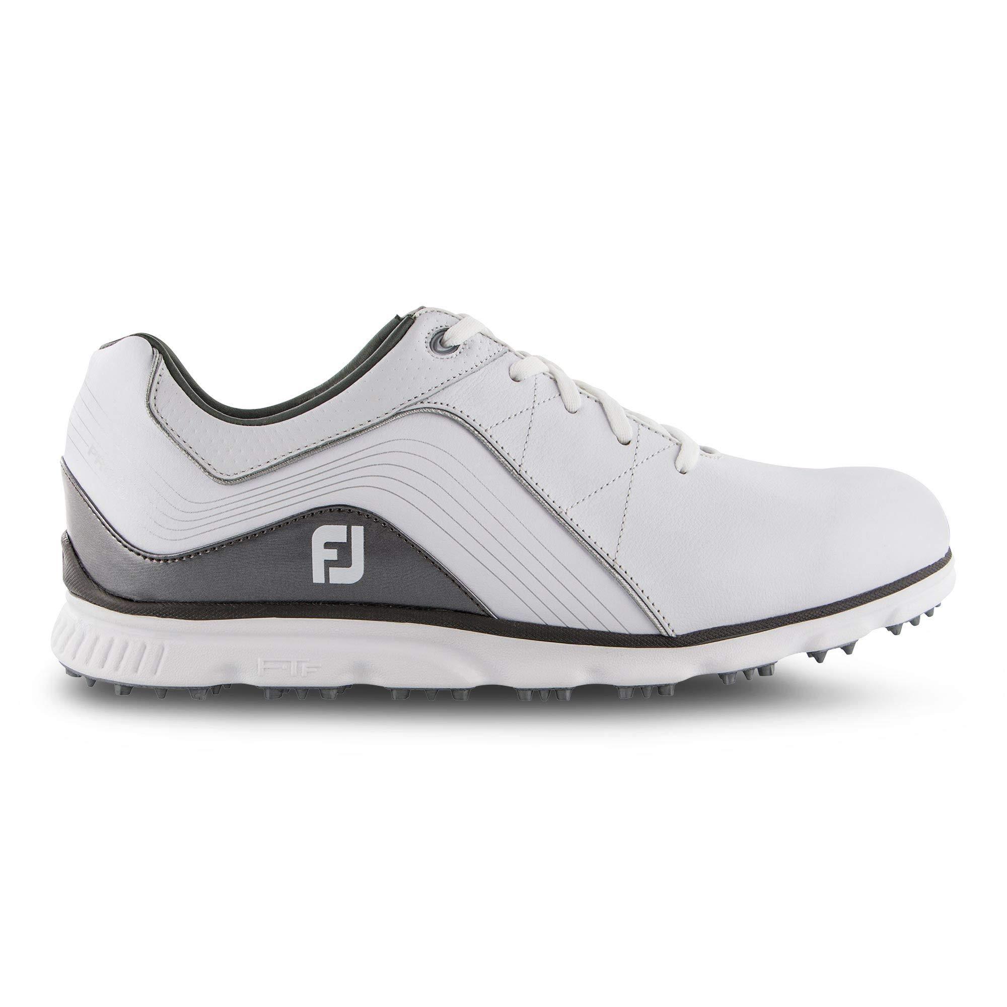FootJoy Men's Pro/SL Golf Shoes White 13 N Grey, US by FootJoy