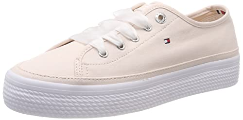 Tommy Hilfiger Pastel Flatform Sneaker, Zapatillas para Mujer: Amazon.es: Zapatos y complementos