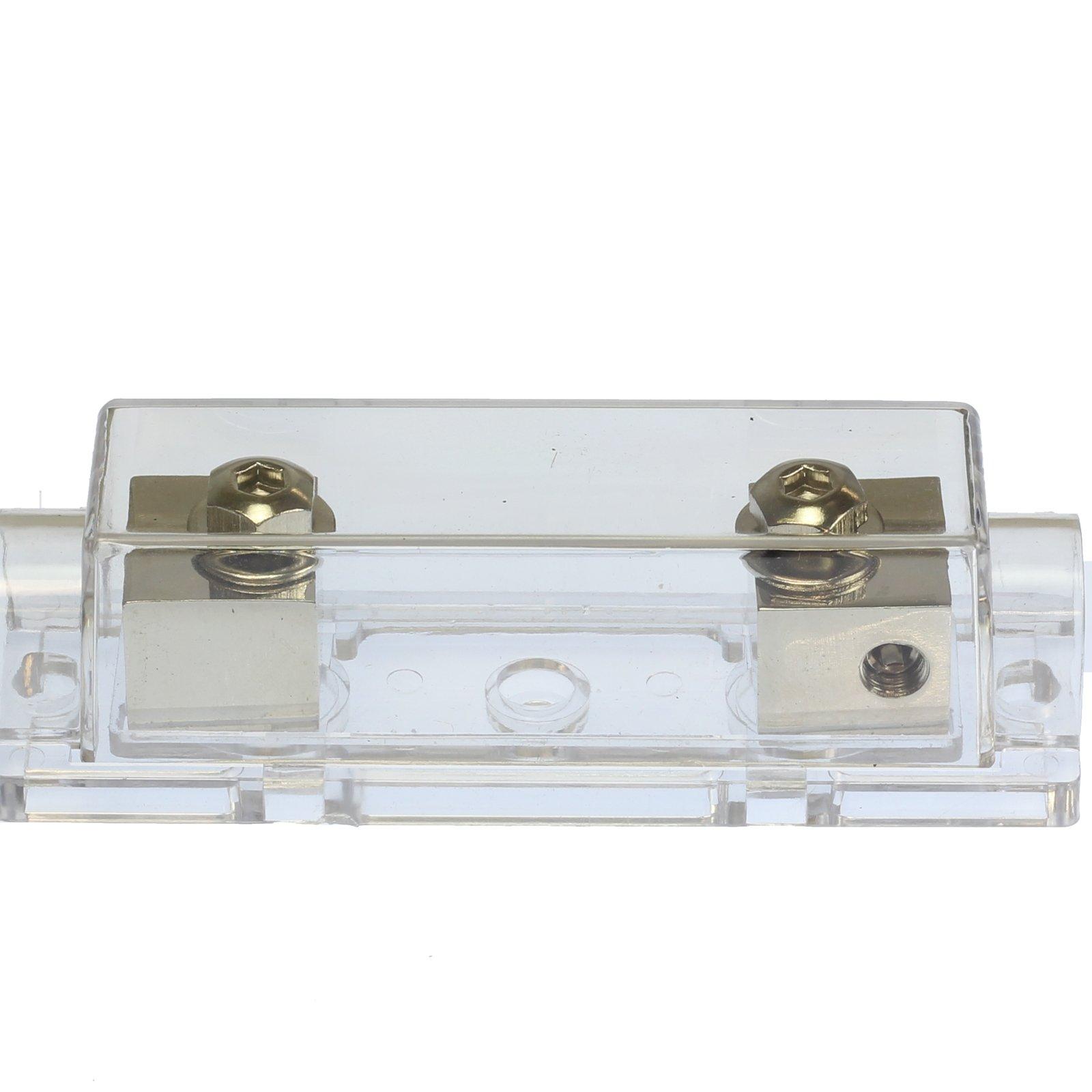 (1) 350 AMP ANL Fuse & (1) Inline Fuseholder Battery Install Kit 1/0 Gauge 1FT by 12voltnet (Image #6)
