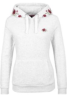 Sublevel Damen Sweatshirt Hoodie Kapuze LSL-287 Streifen  Amazon.de ... fbf65f4319