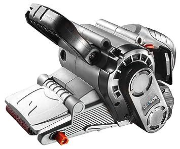 Einhell Bandschleifer TC-BS 8038 800 W, 76x142 mm, Bandlauf mit Feinjustierung, Staubfangsack, Schleifband P80