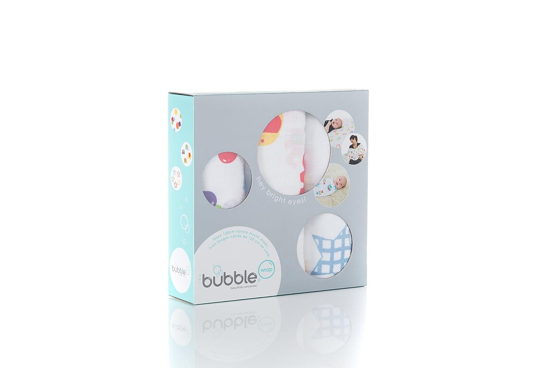Bubble Wrap Hey Bright Eyes Wickeldecke aus Musselinstoff - 3 Stück
