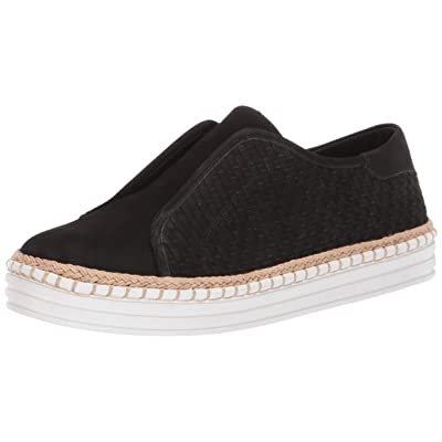 JSlides Women's Kayla Shoe, Black Nubuck, 7.5 Medium US | Loafers & Slip-Ons
