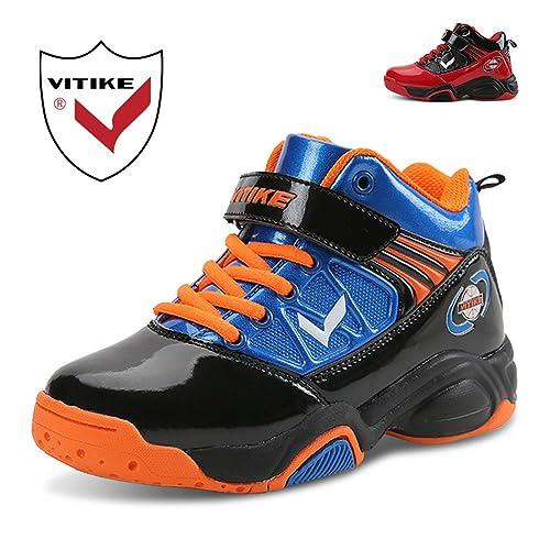 vitike Kids Zapatillas de Baloncesto Niños Moda Zapatillas para ...