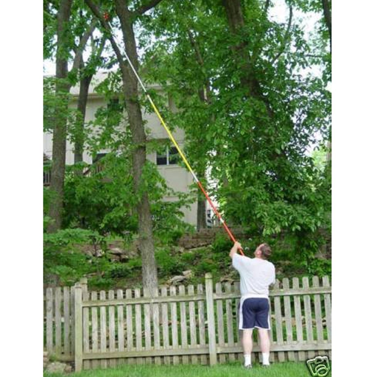 USA Premium Store 19 FOOT POLE SAW Tree Pole Pruner Tree Saw by USA Premium Store