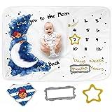 Baby Monthly Milestone Blanket for Baby Boy or Girl - Great Newborn Baby Shower Gift, Premium Extra Soft Fleece, Unisex…
