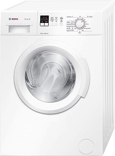 Bosch 6 kg Fully Automatic Front Loading Washing Machine  WAB16161IN, White, Inbuilt Heater  Washing Machines   Dryers