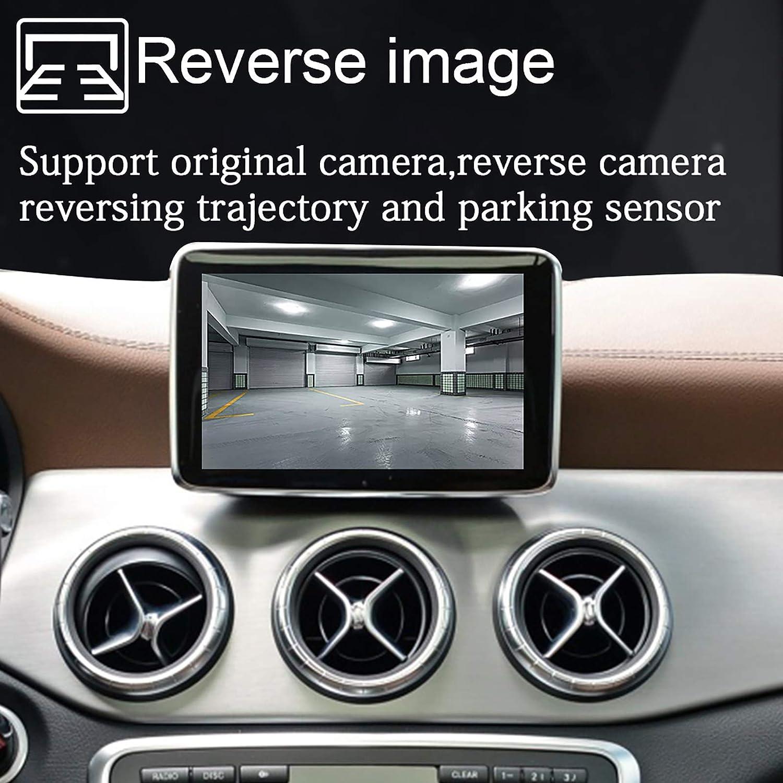 LEXXSON CarPlay D/écodeur sans fil pour Mercedes Benz Classe A B C E GLA GLK GLS CLA ML 2010-2014 avec syst/ème NTG 4.5//4.7
