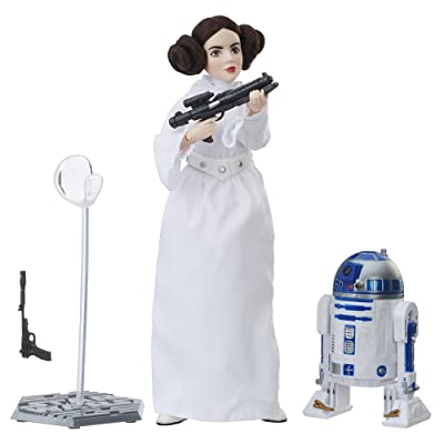 Star Wars Collector Doll Leia Fashion Doll: Hasbro: Toys & Games