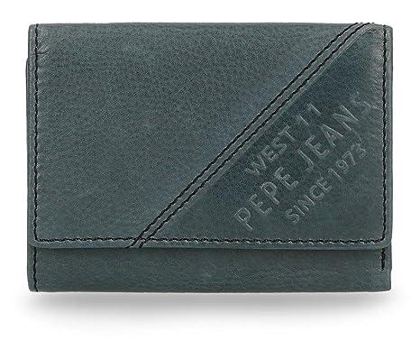 Pepe Jeans Heat Monedero, 10 cm, 0.07 litros, Azul: Amazon ...