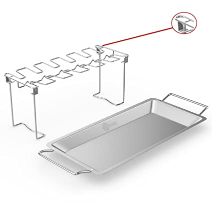 Amazon Chicken Wing Leg Rack For Grill Smoker Or Oven