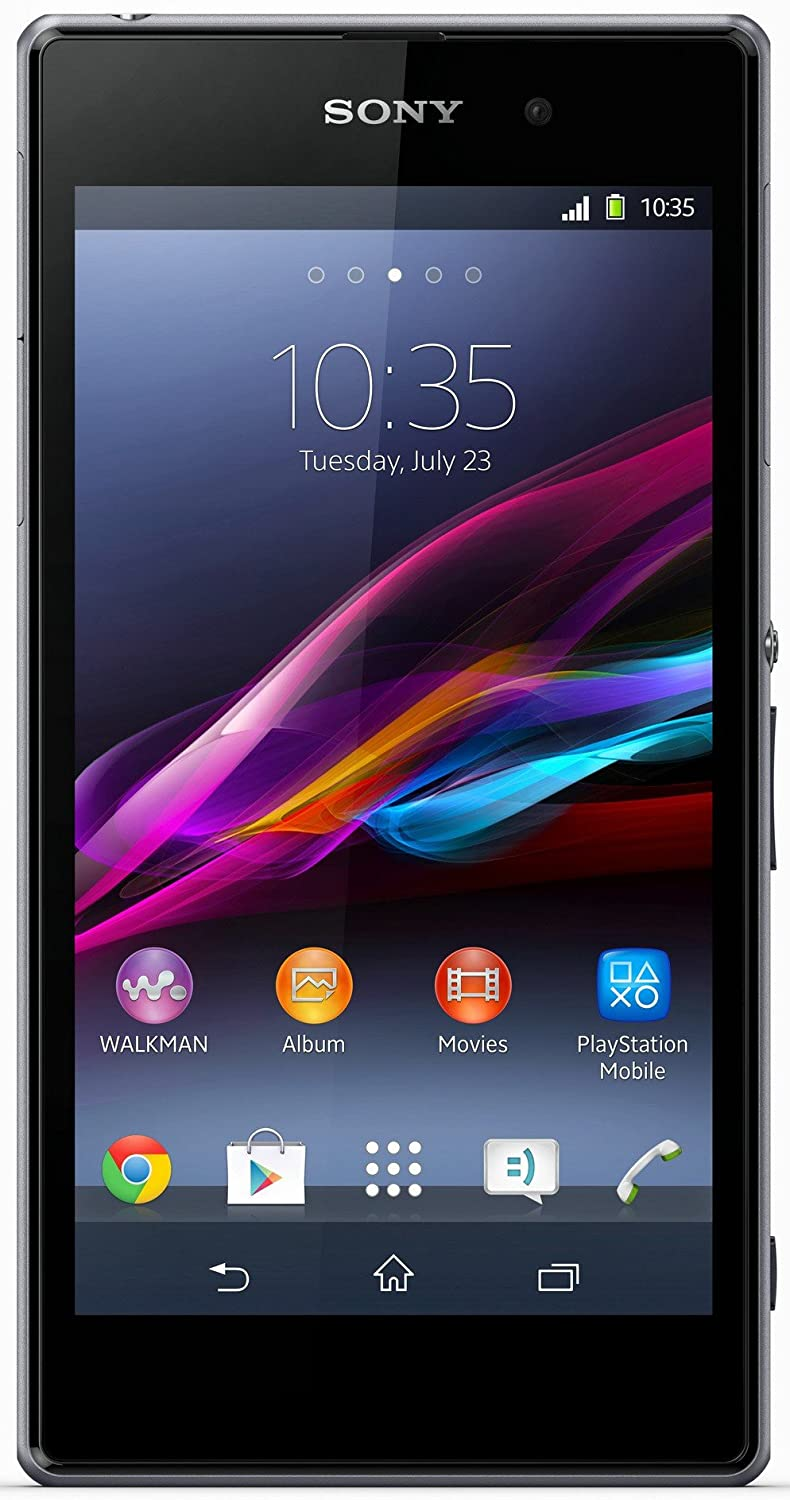 Sony xperia z1 uk sim free smartphone black amazon electronics ccuart Image collections