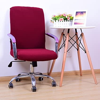 Excellent Amazon Com Yiwant Stretch Removable Washable Office Chair Machost Co Dining Chair Design Ideas Machostcouk