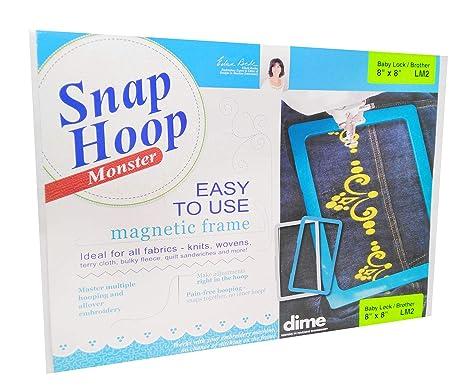 Dime Snap Hoop Monster 8