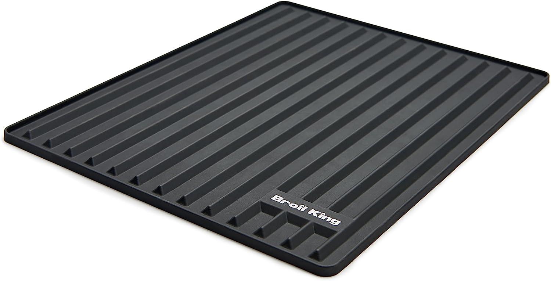 Broil King 60009 Silicone Side Shelf Mat, Black : Garden & Outdoor