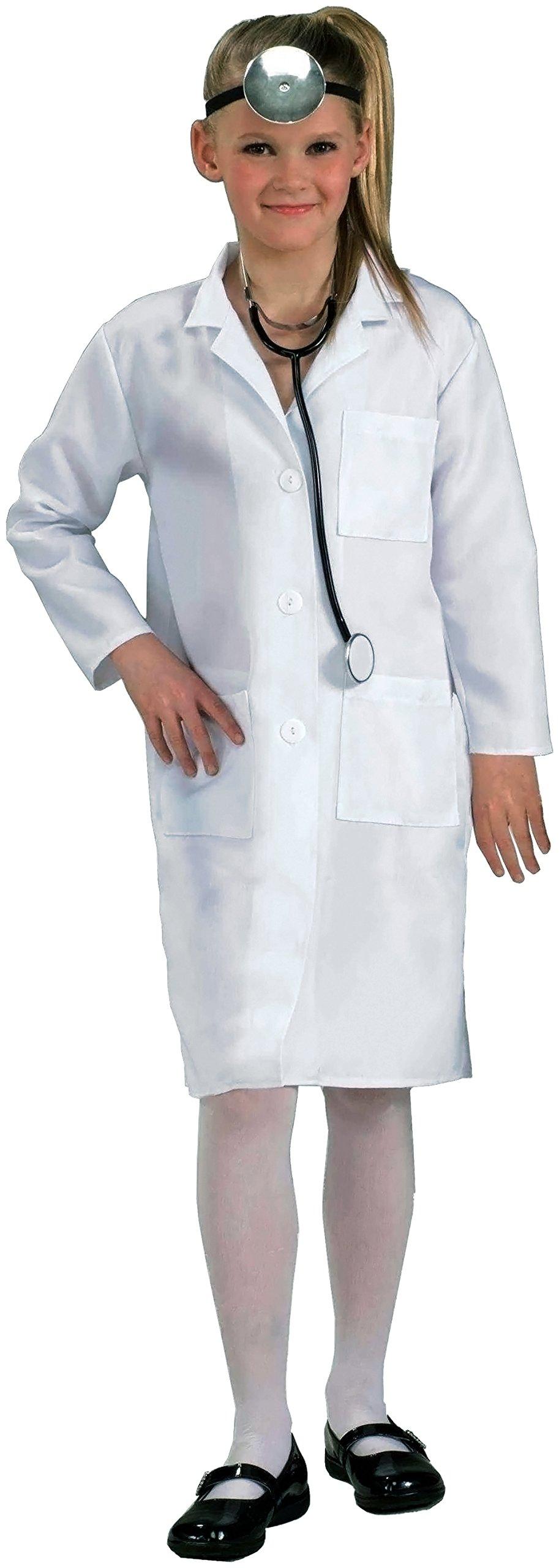 Forum Novelties Child's Costume Doctor Lab Coat, One Size/Medium