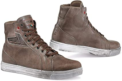 772c60cbd342a TCX Boots Men's Street Ace Waterproof Boots W/P Coffee Brown Size 42/Size  8.5