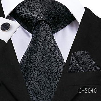 ZHAOSHUNAN Tie cravatta Corbata para Hombre Corbata De Seda A ...