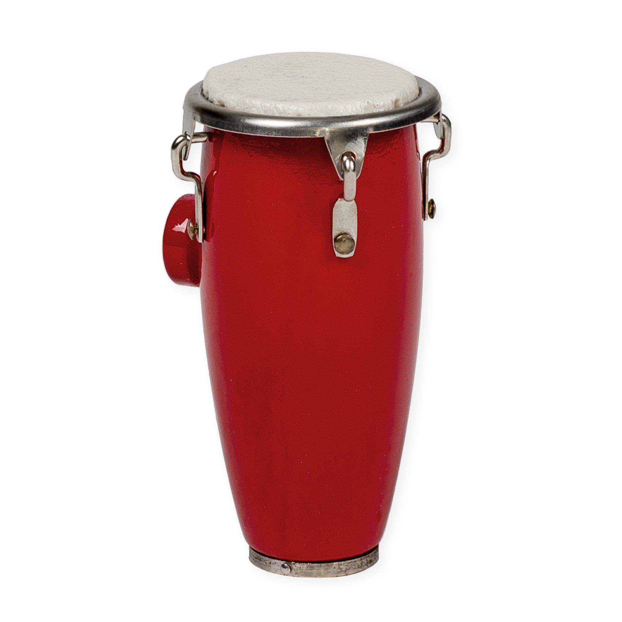 Conga Drum Miniature Replica Mahogany Tone 2 x 2.5