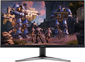"Acer KG271U bmiippx 27"" WQHD (2560 x 1440) TN Gaming Monitor with AMD FREESYNC Technology (2 x Display & 2 x HDMI Ports)"