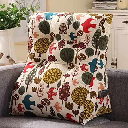 Wowmax Large Bolster Triangular Support Wedge Pillow