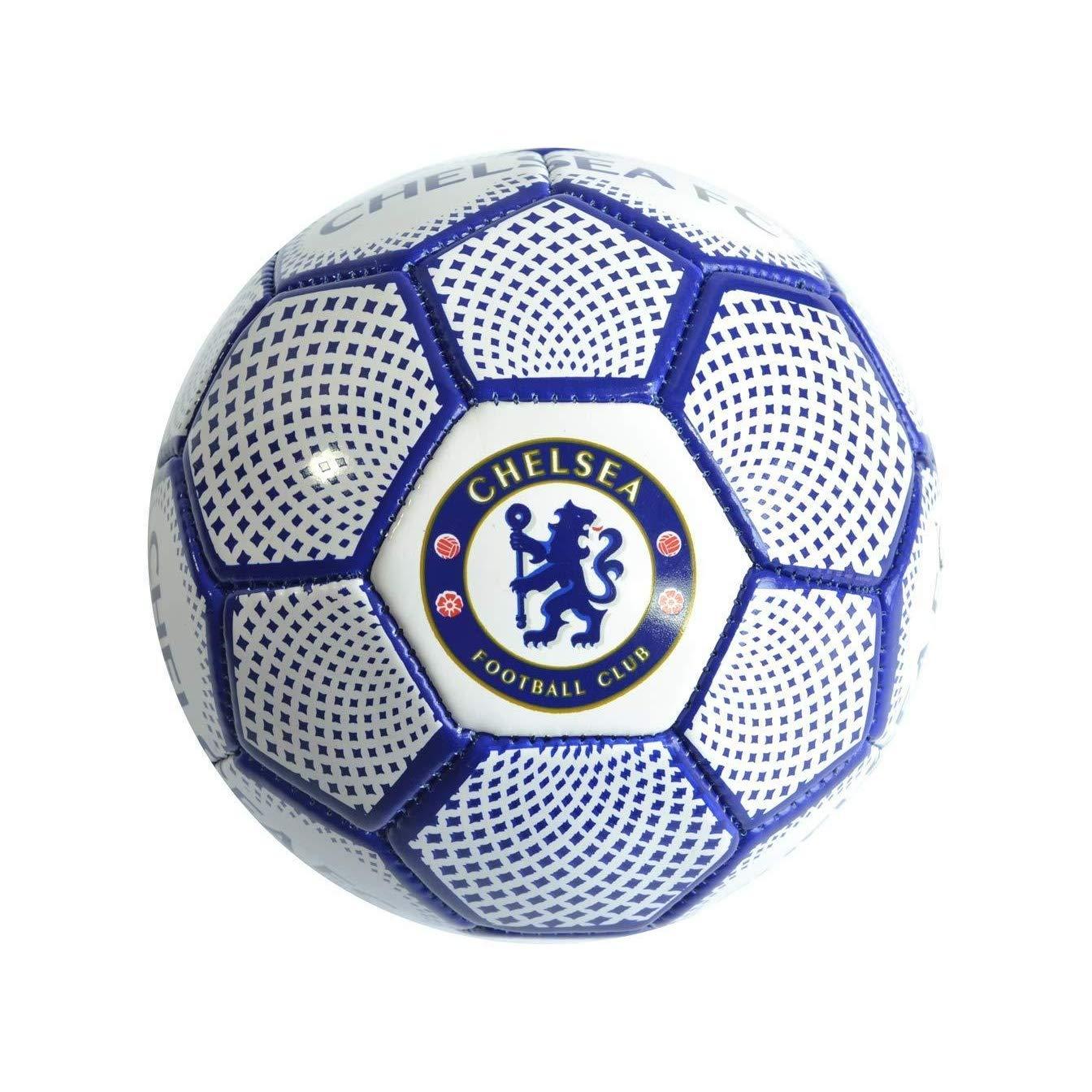 Chelsea F.C. Diamond Balón de fútbol, Juventud Unisex, Blanc y ...