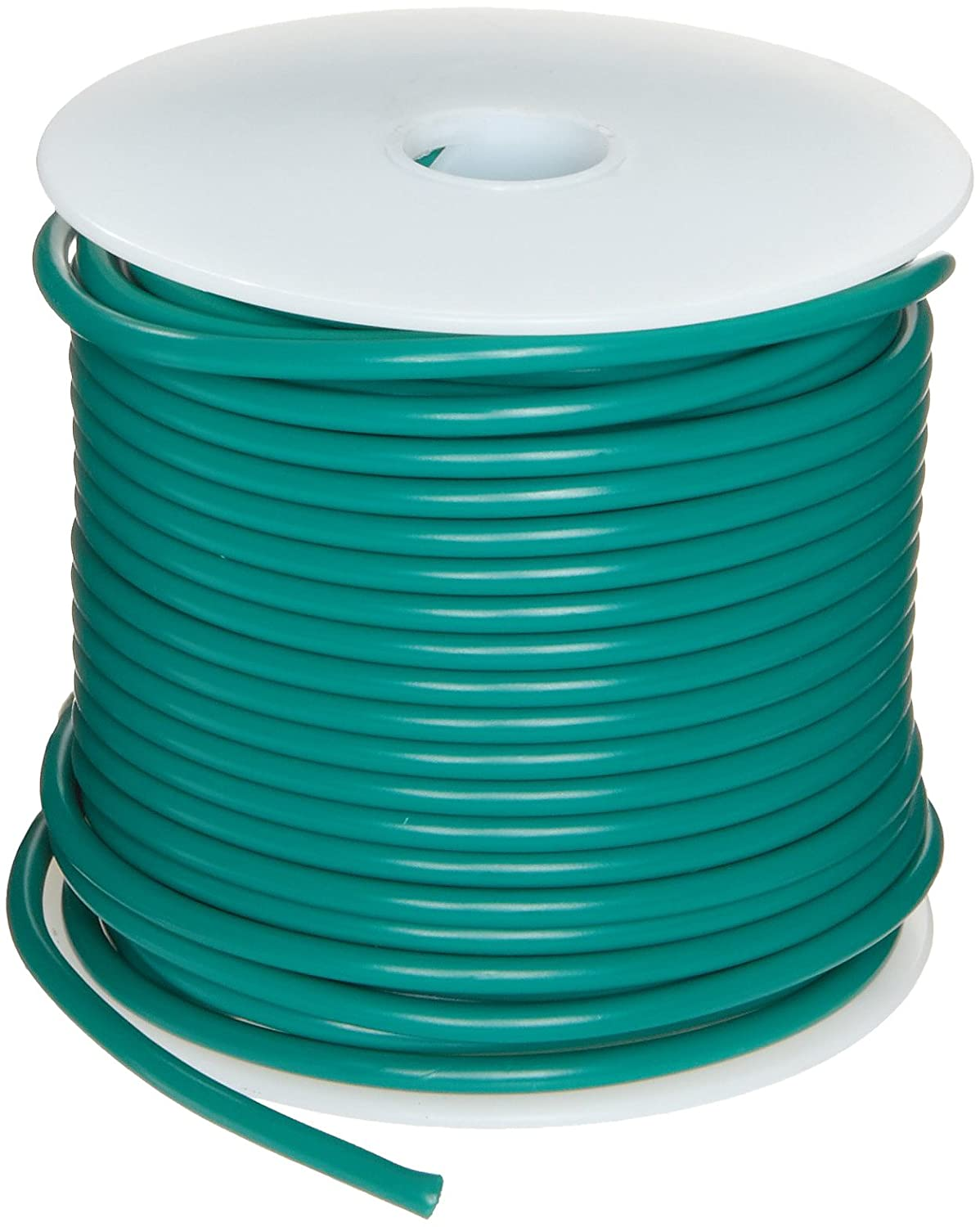 GPT Automotive Copper Wire, Green, 20 AWG, 0.032\