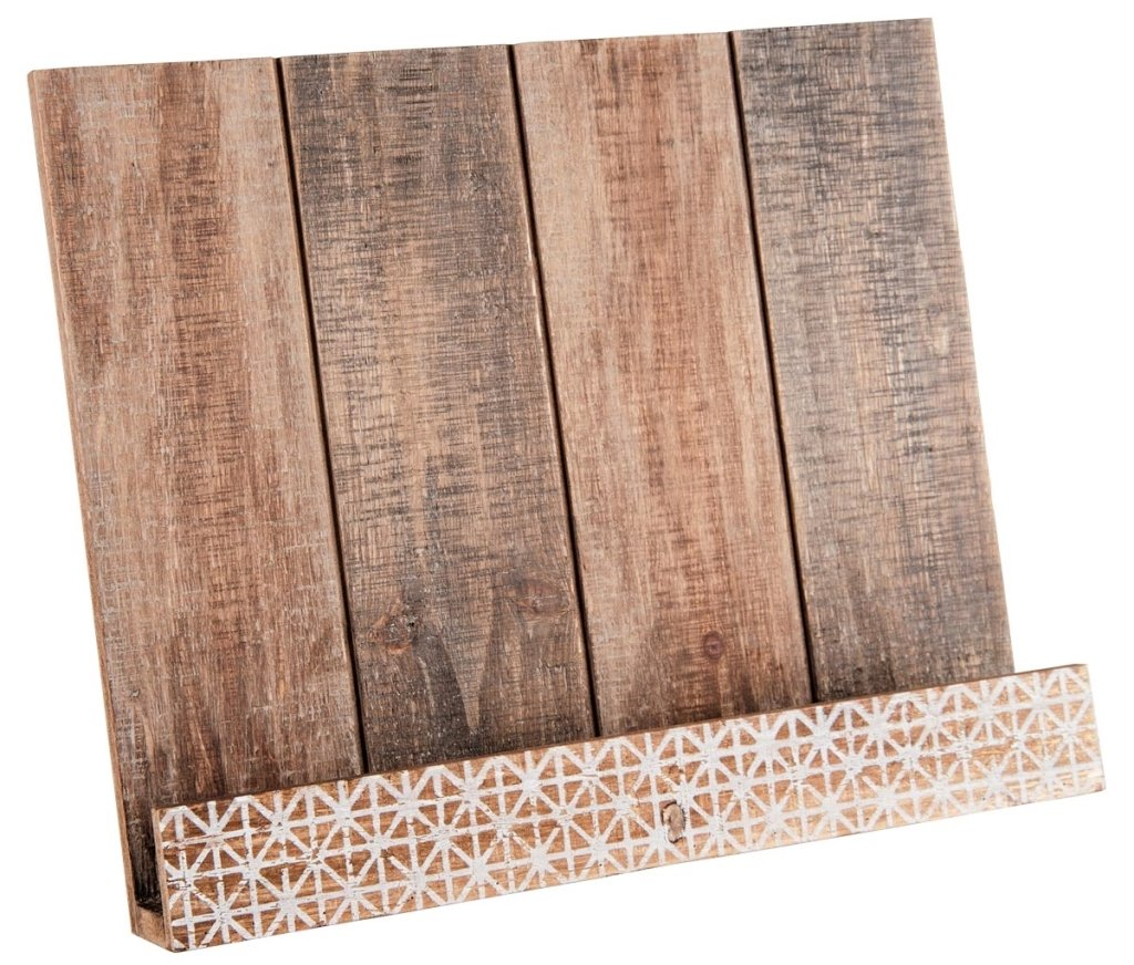 Amazon.com: Foreside Home & Garden Slatted Book Holder: Kitchen & Dining