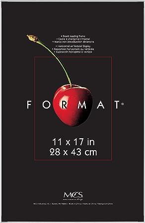 Mcs 11x17 Inch Format Frame White Amazon Co Uk Kitchen Home