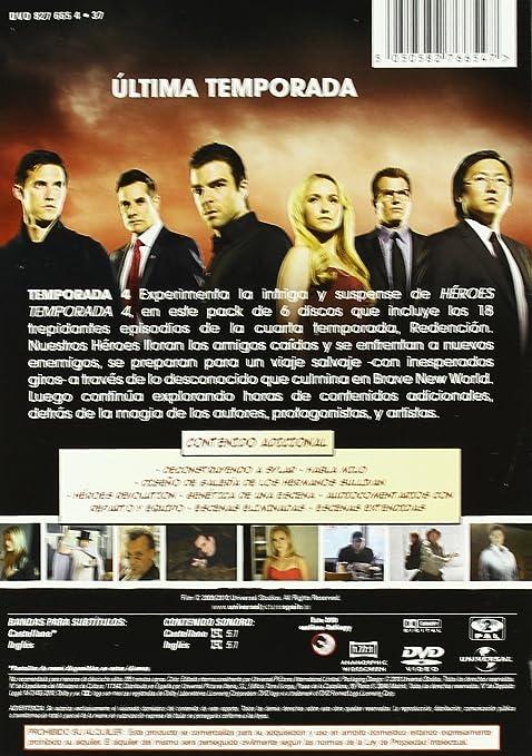 Héroes: Temporada 4 [DVD]: Amazon.es: Hayden Panettiere, Masi Oka ...