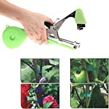 YueYueZou Plant Tapetool, Hand Tying Machine for Fruit Vegetable Vine Tomato, Agriculture Tapener(Green)