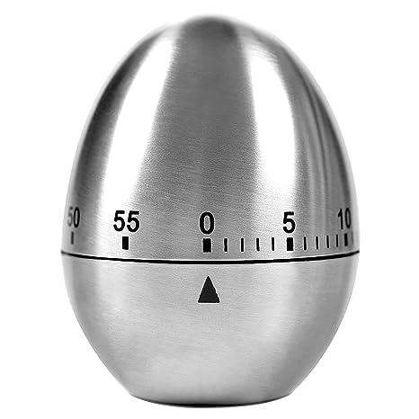 Timer Cucina ,Lemego Timer a Forma di Uovo per la Cucina,60 minuti ...