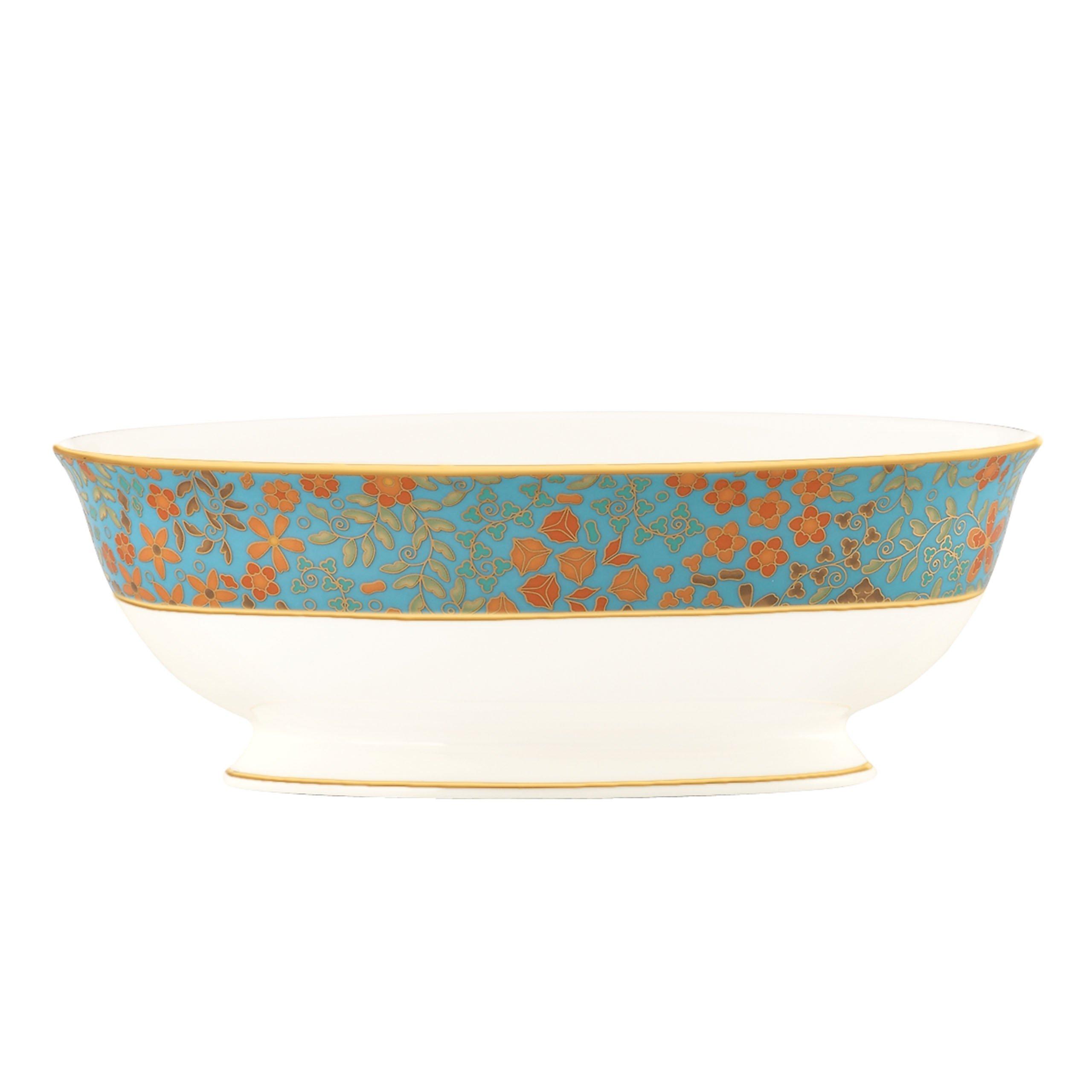 Lenox Gilded Tapestry Open Vegetable Bowl