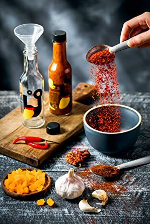 Sauce Lab Mango Habanero Hot Sauce Diy Kit