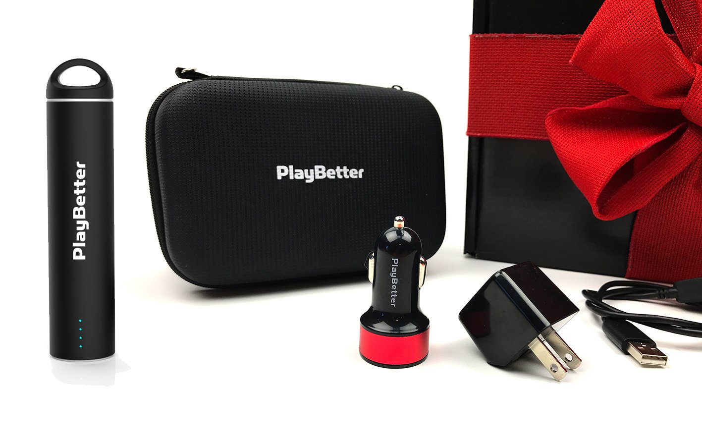 Garmin Edge 1030 Cycle Gift Box Bundle | with Garmin Chest Strap HRM, Speed & Cadence Sensors, PlayBetter Portable USB Charger, Car/Wall Adapters, Hard Case, Bike Mounts | GPS Bike Computer | Gift Box by PlayBetter (Image #6)