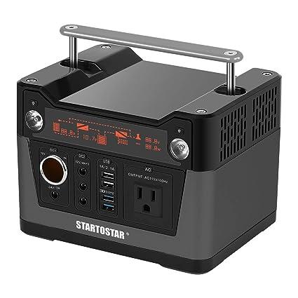amazon com startostar portable power station 280wh battery