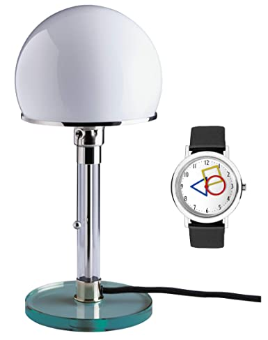 TECNOLUMEN Wilhelm Wagenfeld Bauhaus lámpara de mesa lámpara ...