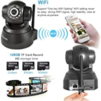 Office Home Secure Wireless Wifi 1080P Security Surveillance IP Camera Night Vision 32GB SD Support