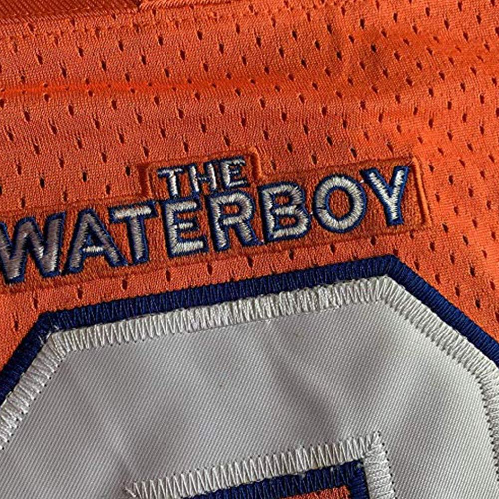 Bobby Boucher #9 The Waterboy Adam Sandler Movie Mud Dogs Bourbon Bowl Football Jersey