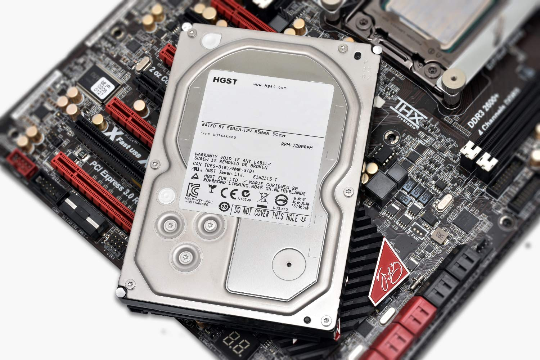 Hitachi 0F23005 Disque Dur Interne 3,5 4 to SATA III