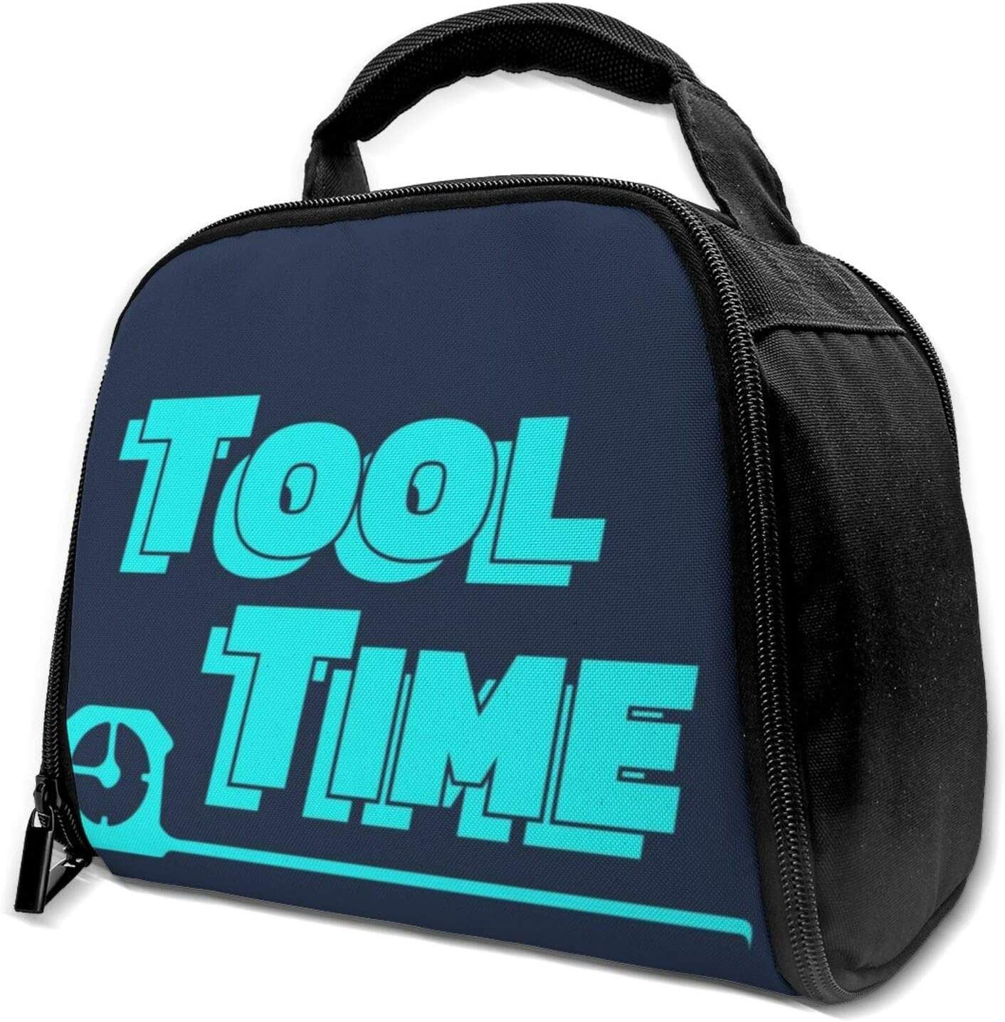Home Improvement Tool Time Reusable Insulation Bags Picnic Lunch Box For Adult And Kids, Lunch Cooler For Office Work