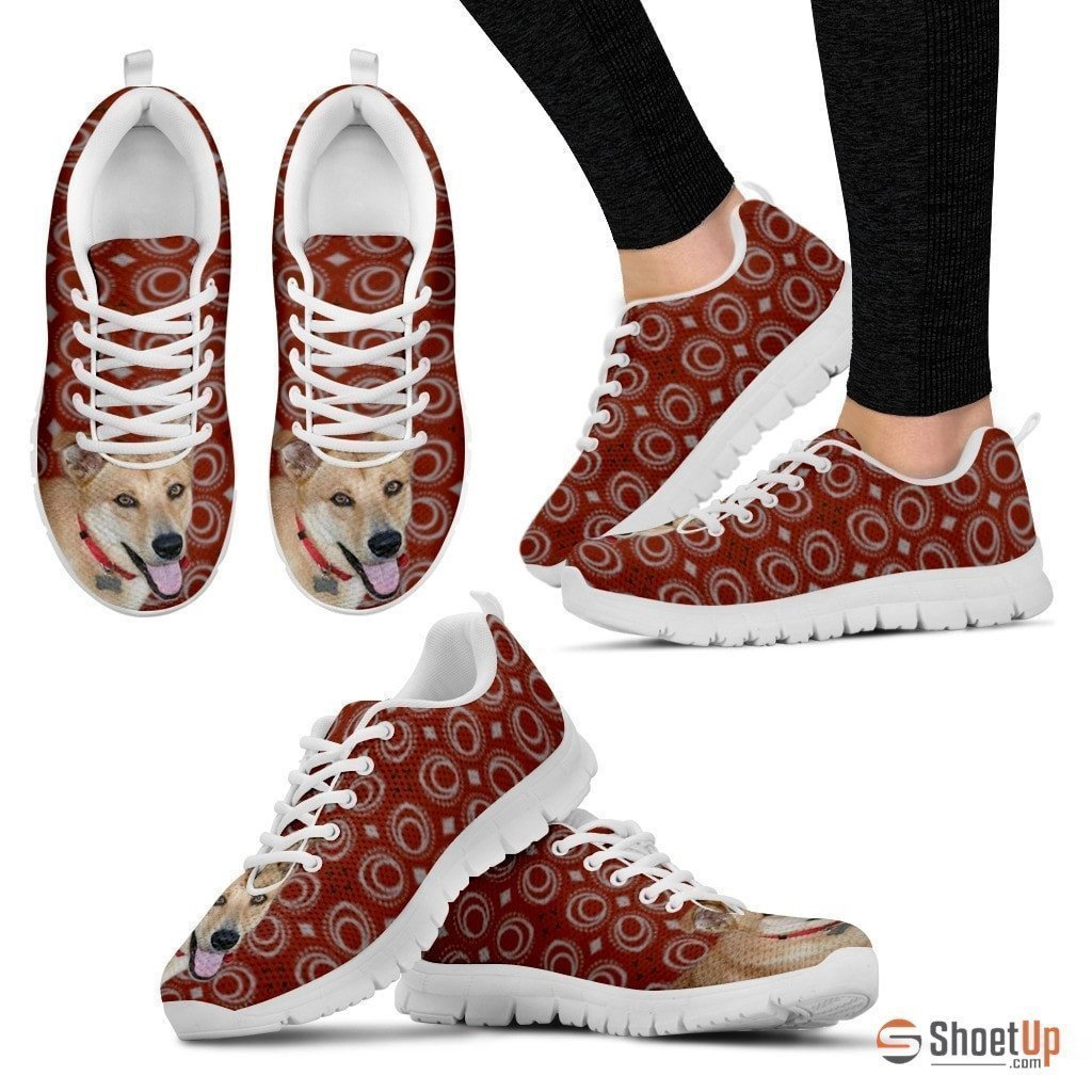 Luto Home Canaan Dog Running Shoes for Women-Casual Comfortable Sneakers Running Shoes