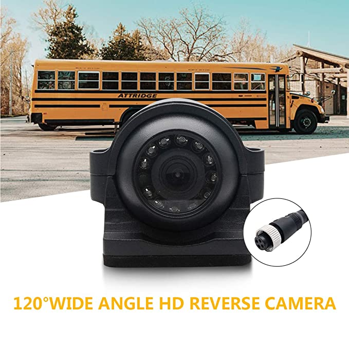 4Pin Bus CCD IR Nachtsicht Auto Seitenansicht Rückfahrkamera Bus LKW 12V 24V 10M